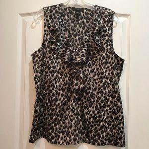 Ann Taylor leopard top